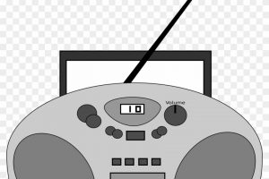 Cool cliparts stock vector. Cd clipart cd player