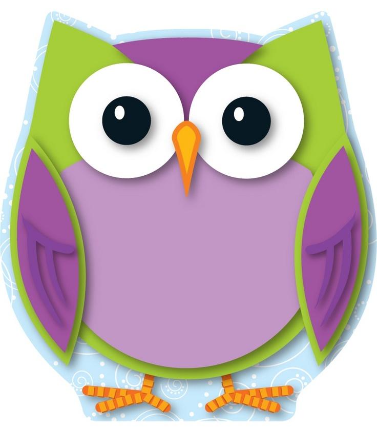 best birdies owls. Cd clipart colorful