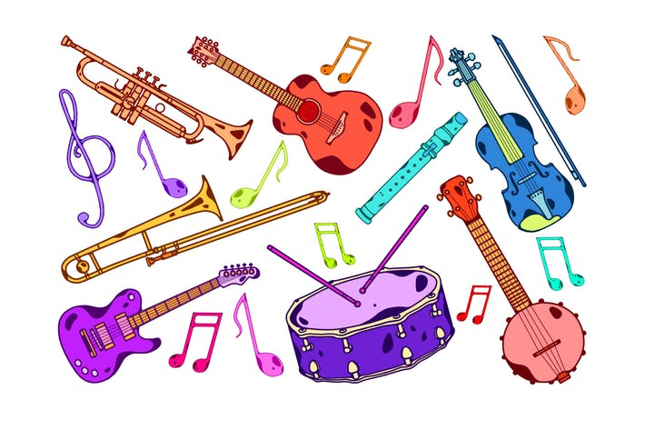 Instruments by jumsoft on. Cd clipart colorful