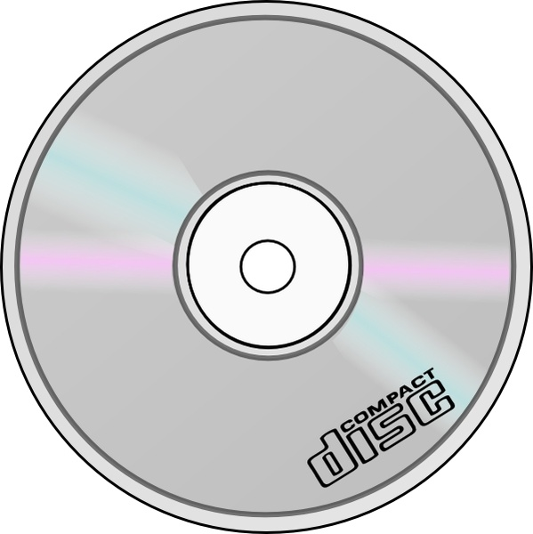 cd clipart compact disk