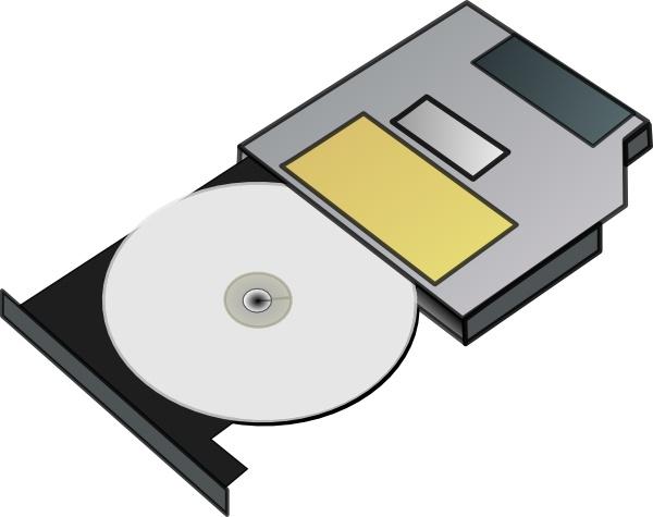 Cd clipart computer cd. Slim drive clip art