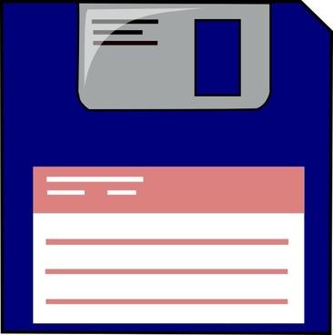 Floppy disket free vector. Cd clipart diskette