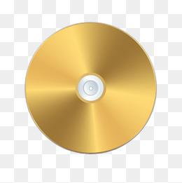 Cd clipart gold. Disc png vectors psd