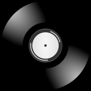 Record clip art at. Cd clipart gold