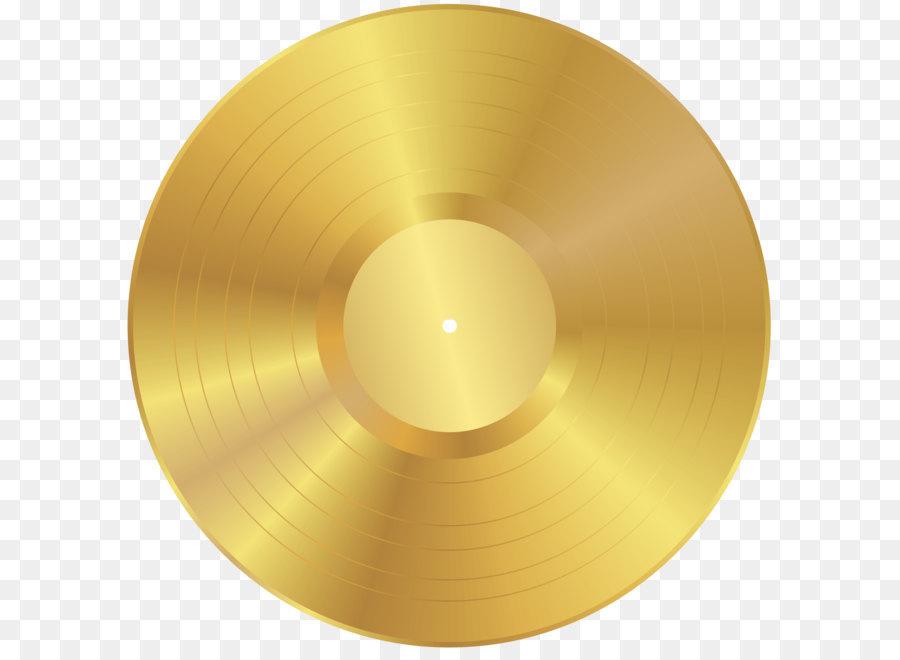 Phonograph record clip art. Cd clipart gold
