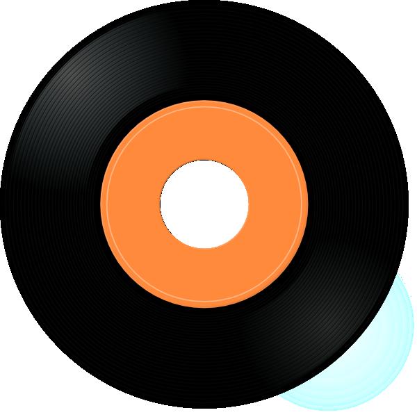 Circle clipart printable. Record album clip art