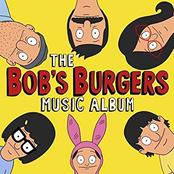 Cd clipart music album. Bob s burgers the