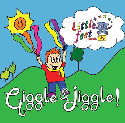 Cd clipart music album. Little feet giggle jiggle