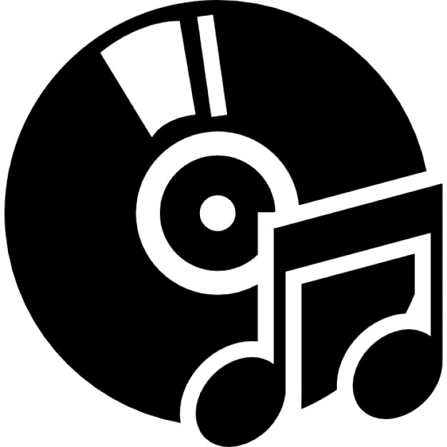 Icons free download icon. Cd clipart music album