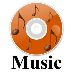 Cd clipart music cd. Icon with label listen