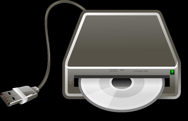 Usb dvd writer remix. Cd clipart optical drive