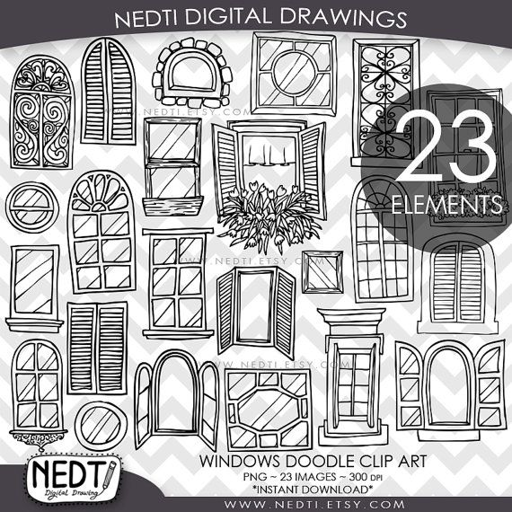 Windows doodle clip art. Cd clipart sketch