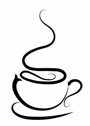 Pix for coffee cup. Cd clipart sketch