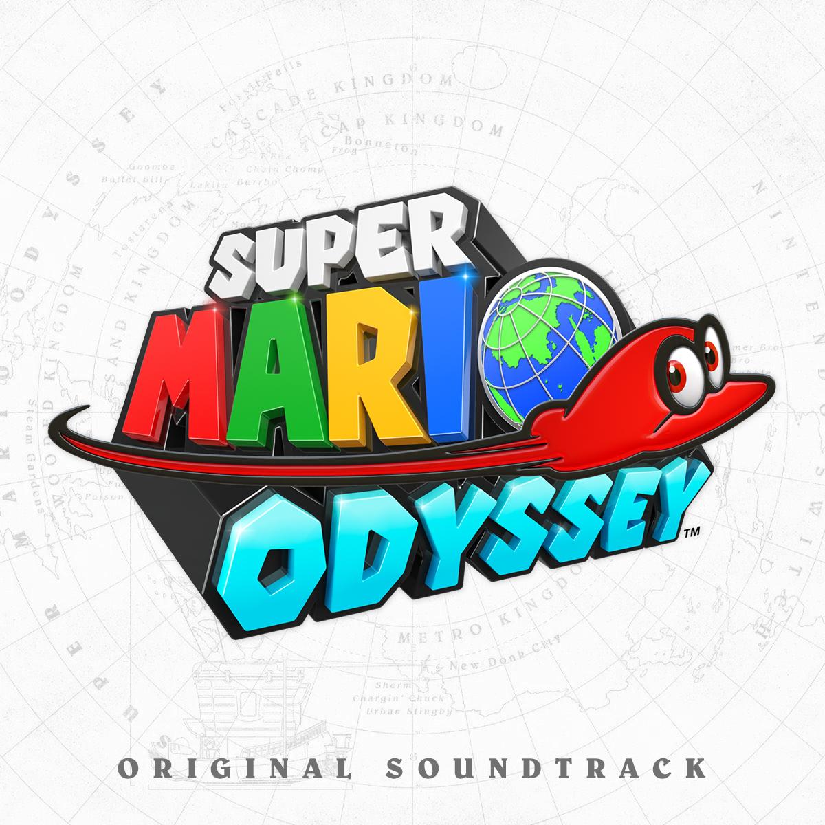 Super mario odyssey custom. Cd clipart soundtrack