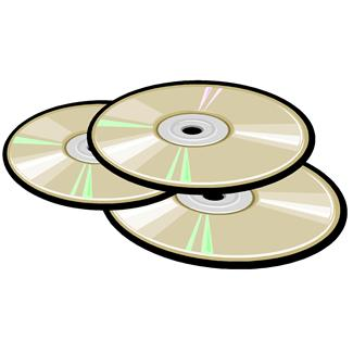 Cd clipart stacked. Dvd free download best