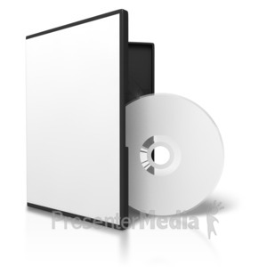 Presenter media powerpoint templates. Cd clipart stacked