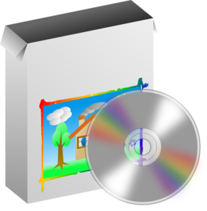 Free computer software cliparts. Cd clipart training material