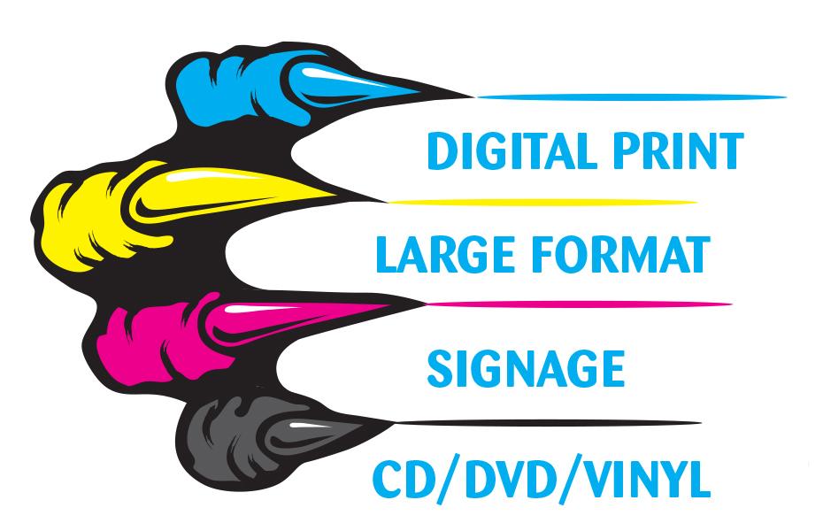 Blu monster print media. Cd clipart training material