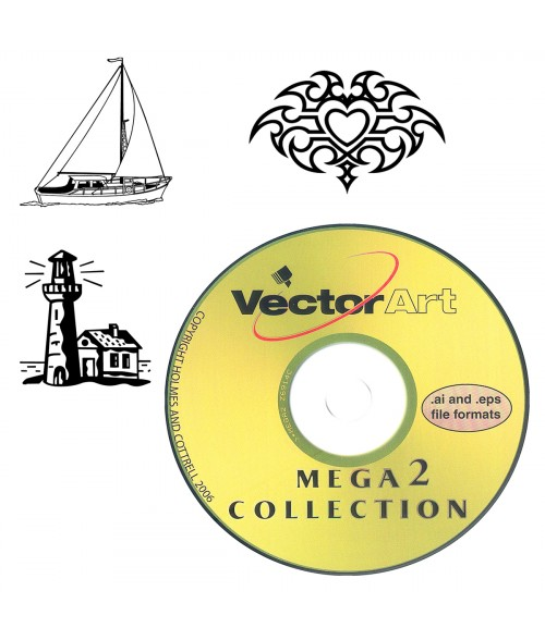 Clip art engraving support. Cd clipart training material