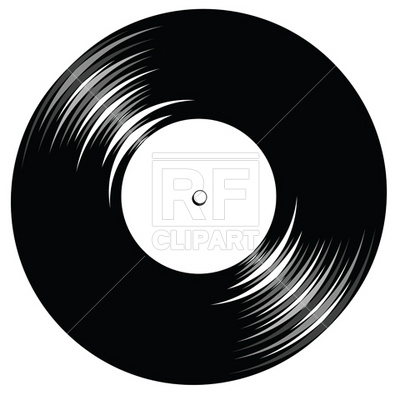 Cd clipart vintage record. Group vinyl with space