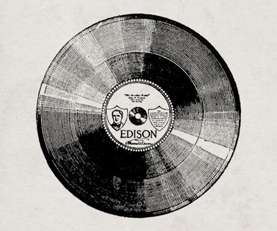 Cd clipart vintage record. Illustration records and the