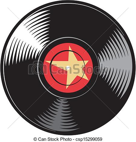 Cd clipart vintage record. Vinyl drawing at getdrawings