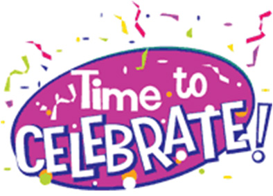 Celebration clip art free. Celebrate clipart