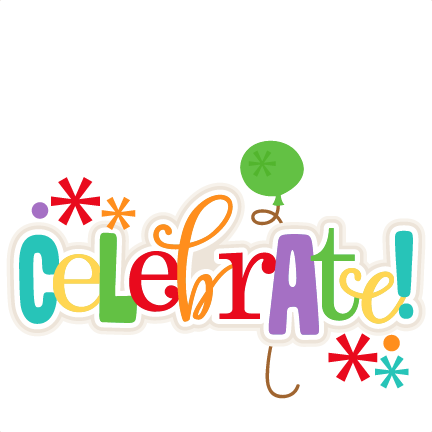 Celebrate clipart. Clip art celebration free