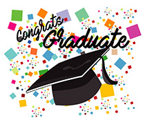 Celebrate clipart animated. Graduation gifs