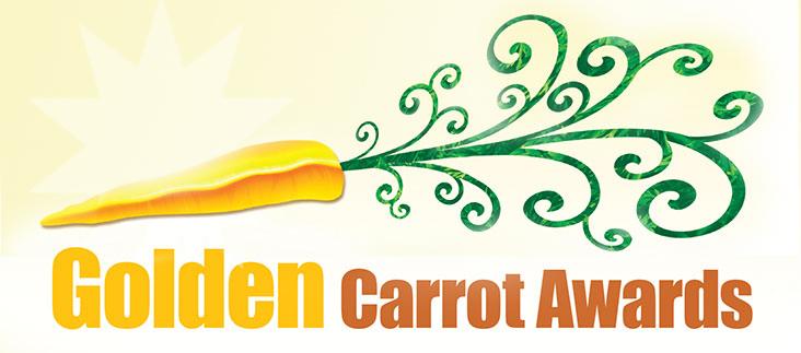 Celebrate clipart award. The golden carrot awards