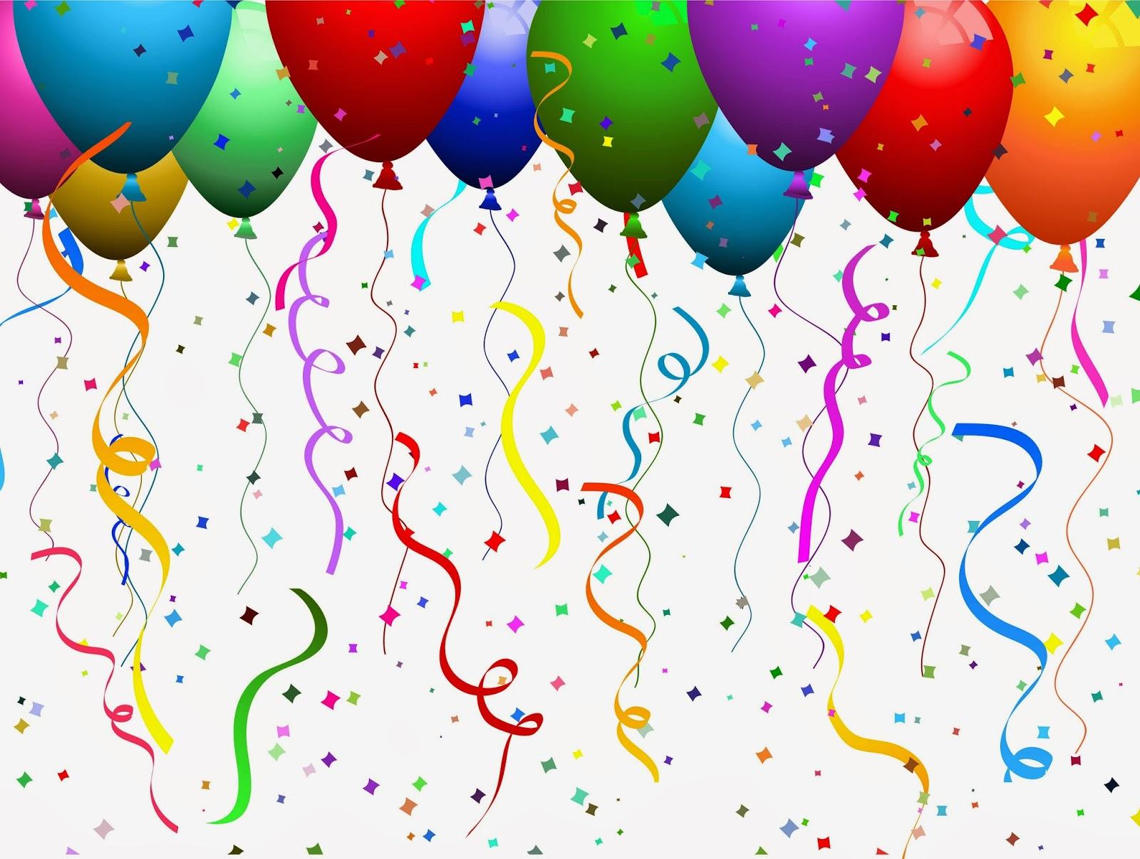 Celebrate clipart balloon. Amazing balloons celebration birthday