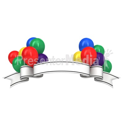 Celebrate clipart banner. Celebration message presentation great