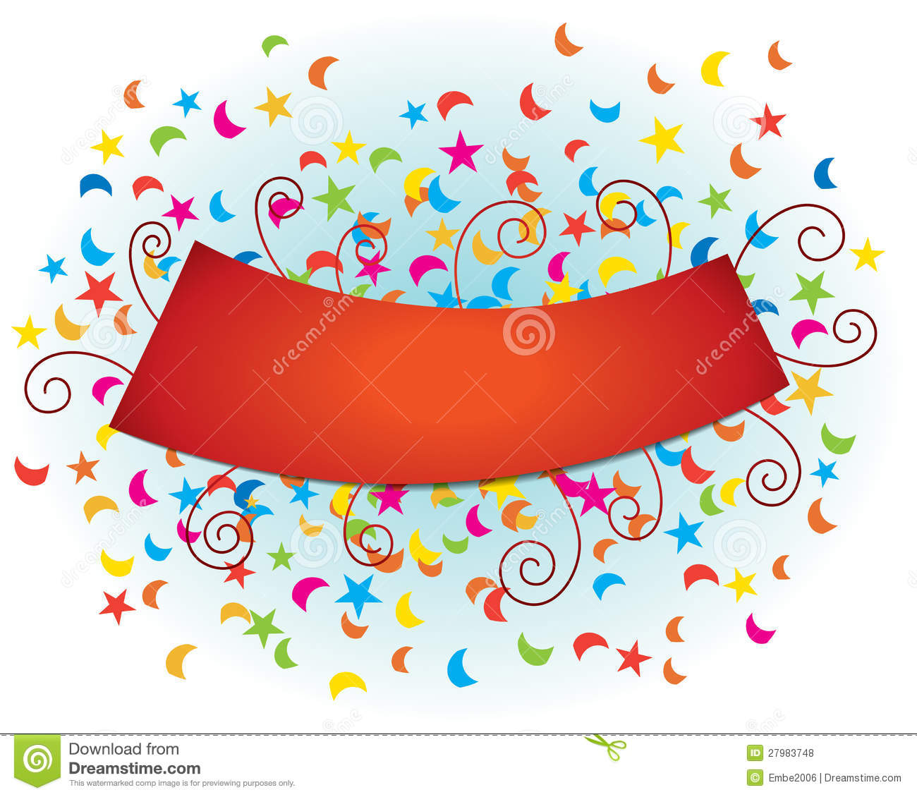 . Celebrate clipart banner