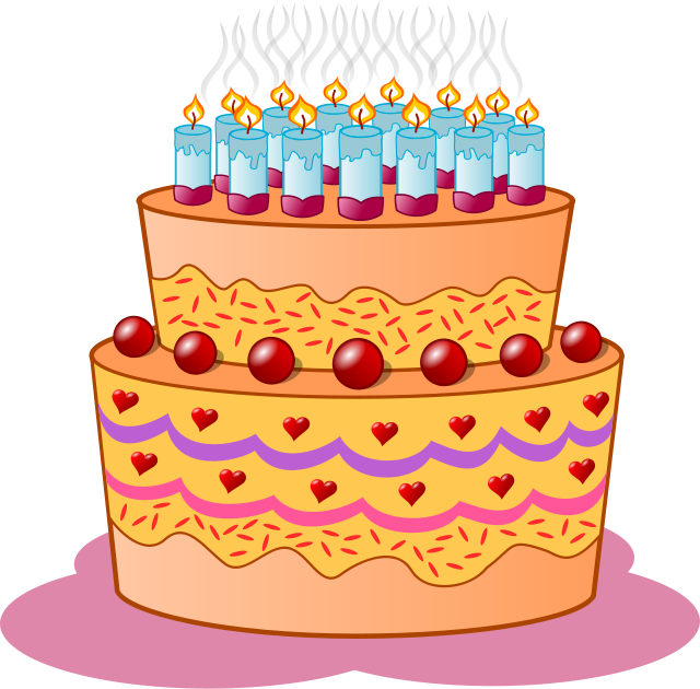 Celebrate clipart bday. Free birthday celebration public