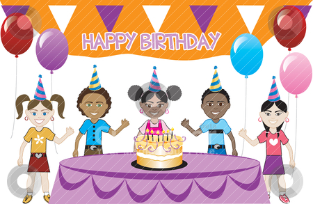 Celebrate clipart bday. Birthday celebration station