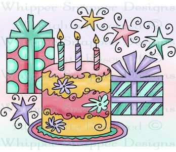 Celebrate clipart birthday cake.  best doodle celebration