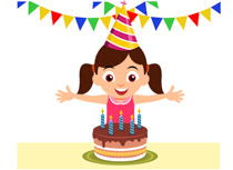 Free clip art pictures. Celebrate clipart birthday cake