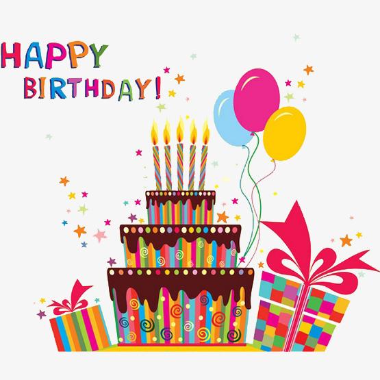 Cartoon celebration dinner five. Celebrate clipart birthday cake