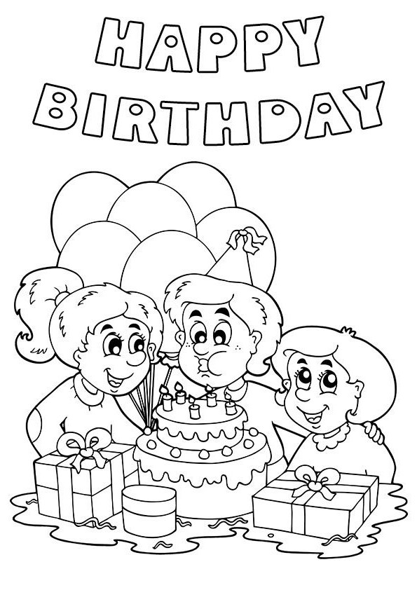Celebrate clipart black and white. Birthday party happy world