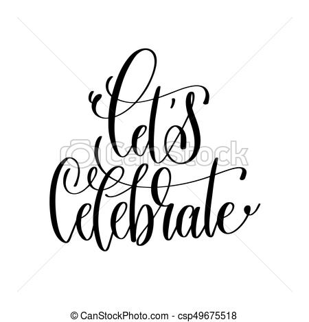 collection of celebration. Celebrate clipart black and white