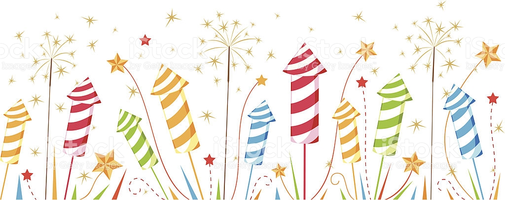 Celebrate clipart border. Fireworks cilpart marvellous inspiration