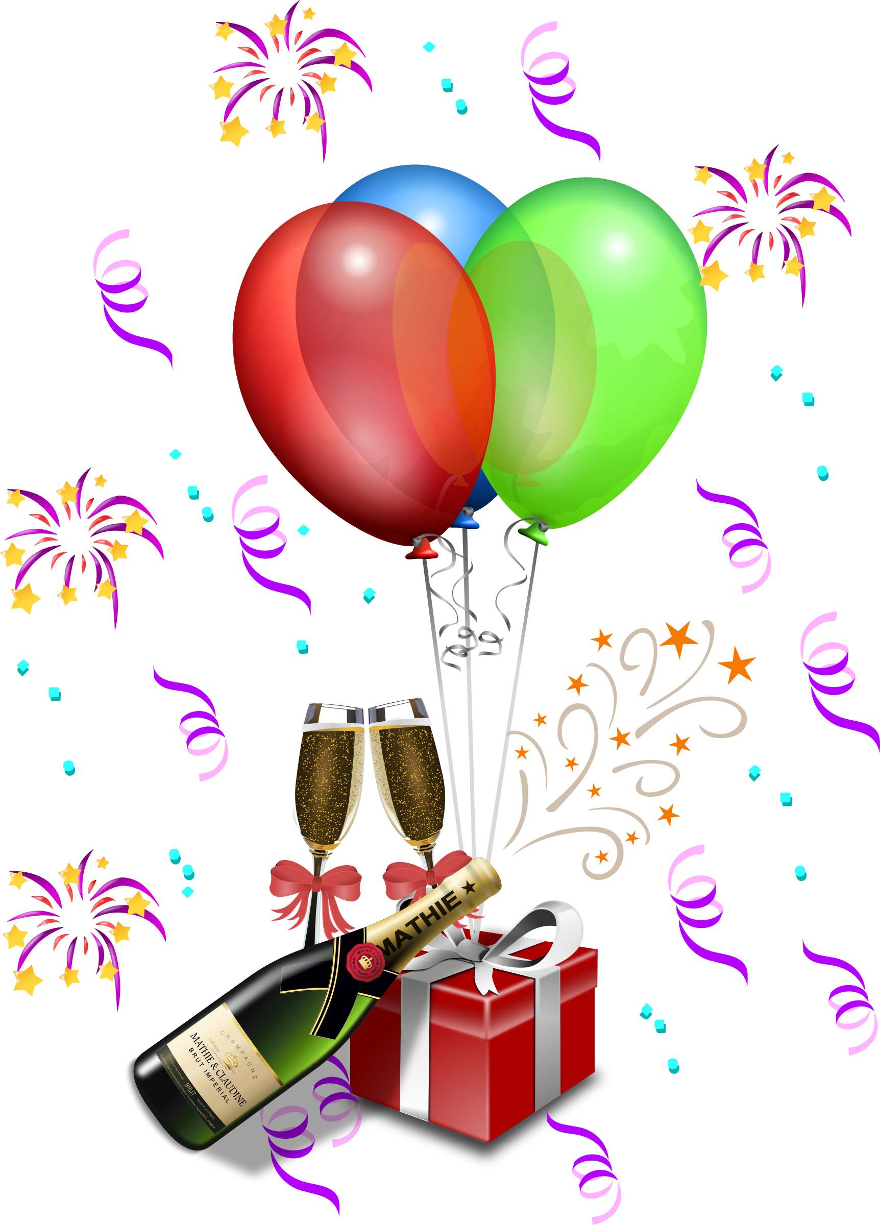 Celebrate clipart champagne. The small steps just