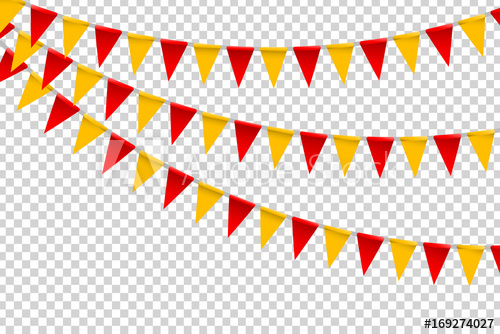Vector realistic isolated party. Celebrate clipart clear background