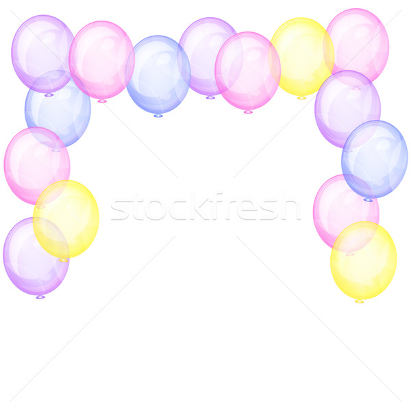 Balloon transparent free download. Celebrate clipart clear background
