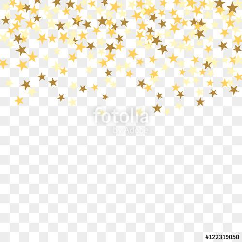 Celebrate clipart clear background. Gold star confetti celebration