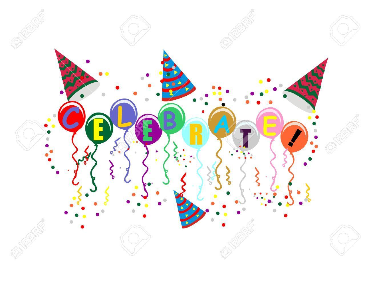 Celebrate clipart confetti. Fondo blanco buscar con