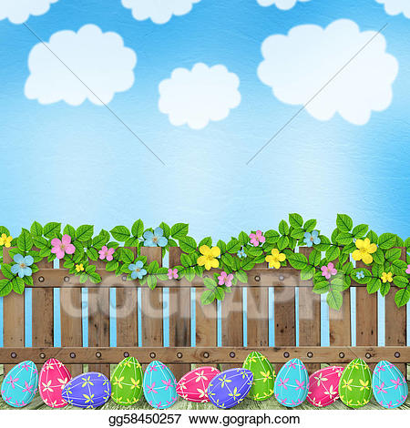Stock illustration pastel background. Celebrate clipart easter