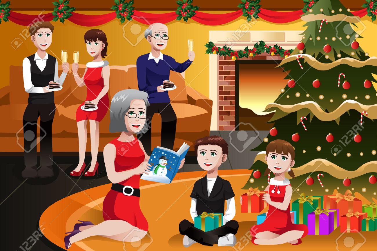 Christmas celebration station . Celebrate clipart event