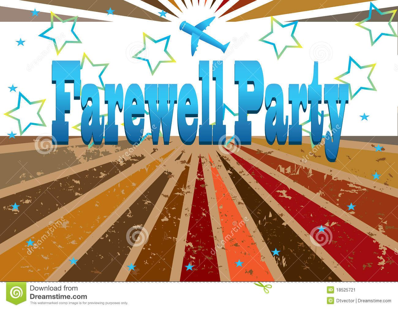 Celebrate clipart farewell. Good bye party clip