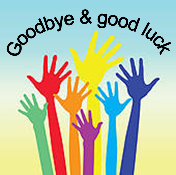 Good luck a big. Celebrate clipart farewell